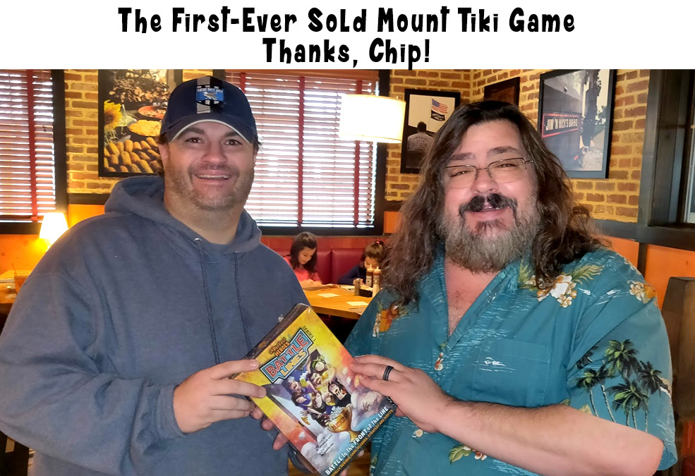 The First Mount Tiki Game to be Sold!
